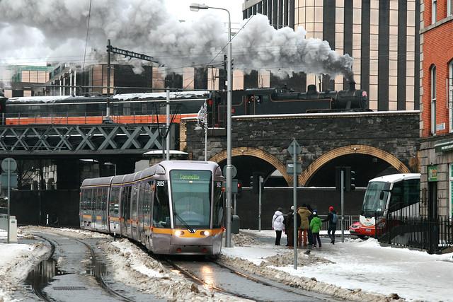 Luas 3025 [Dublin tram]