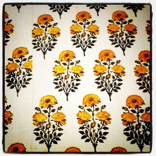 Beautiful fabric at the V&A | by bimmy