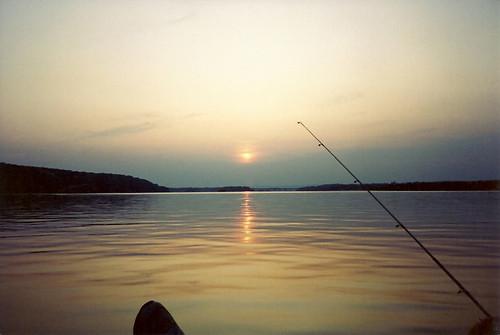 camera sunset film 35mm river fishing pennsylvania scan scanned harrisburg susquehanna 1990sphoto