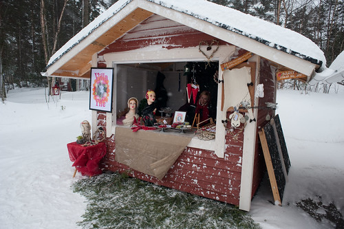 At the Christmas market in Pellinge | by aixcracker