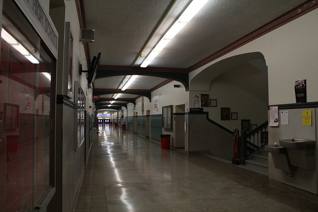 Inside West High School - Salt Lake City, Utah