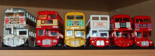 Corgi Routemasters 3