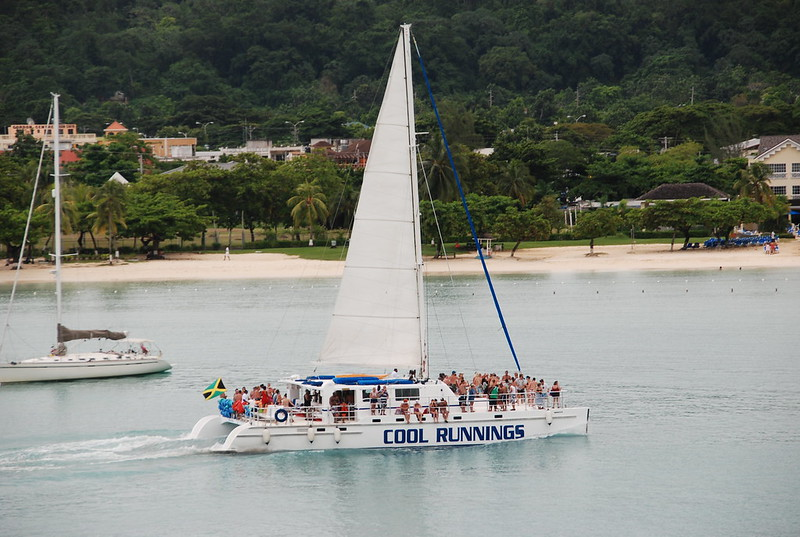 booze cruise catamaran jamaica