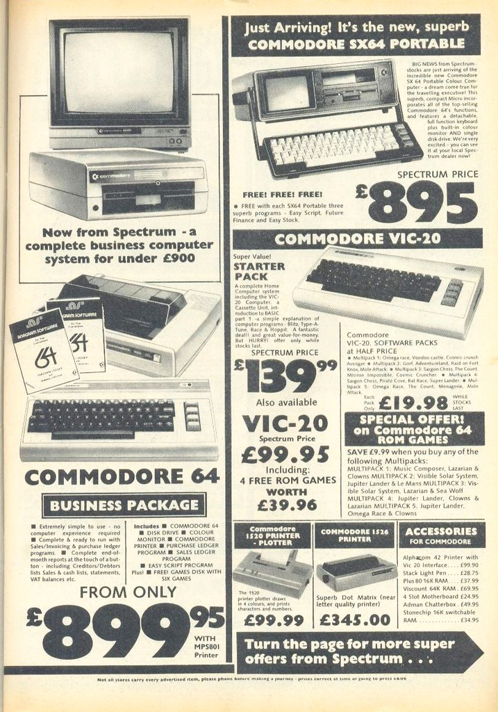 Terms Of Use >> old 80s computer ads 03 | Commodore Vic 20 and the big broth… | Flickr