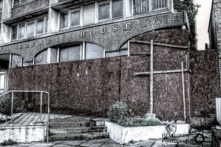 Abandoned Portsmouth - Brunel House Entrance | by Hexagoneye Photography