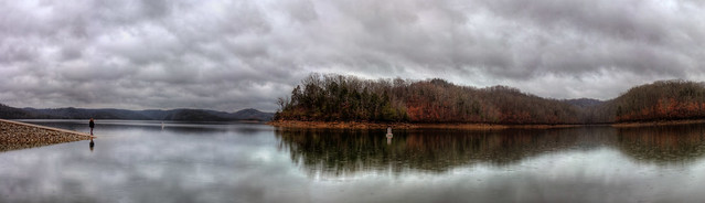 Dale Hollow Lake Panorama, Clay County Co, TN