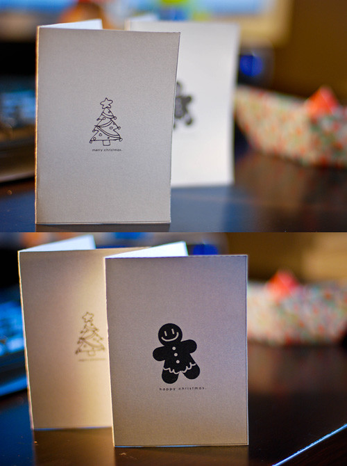 2010 Downloadable Mini Christmas Cards