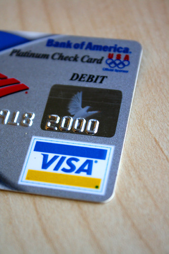 Visa Debit card from Bank of America | by MoneyBlogNewz