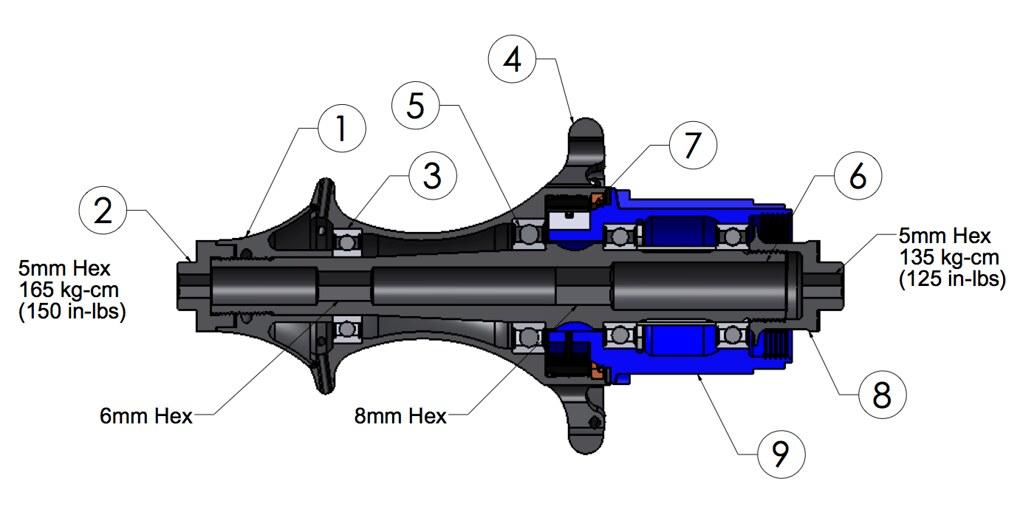 Easton R4SL Rear Hub Assembly | www eastoncycling com/bike/w… | Flickr