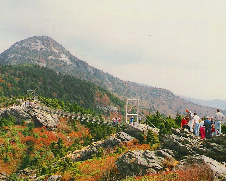Mile High Swinging Bridge Grandfather Mountain Nc Flickr