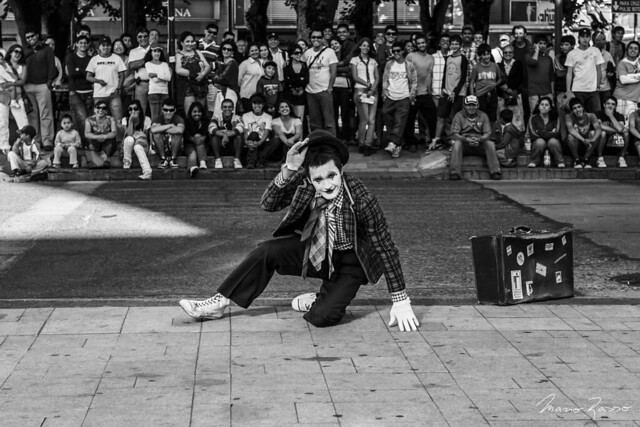 Mime in the Square