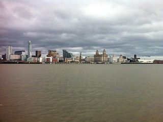 Liverpool skyline from the Mersey ferry | by David Jones