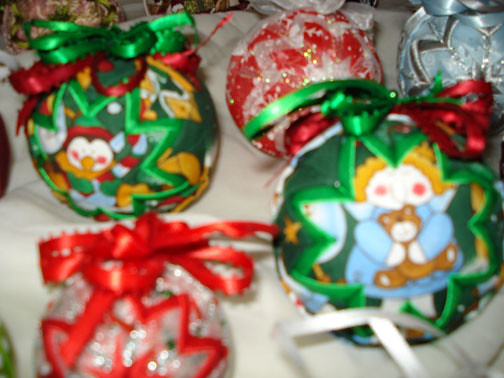Quilted Christmas Ornaments Quilted Christmas Ornaments A Flickr