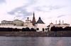 Kazaň, vlevo prez. palác, věž Suyumbika a Kul-šarif, foto: Petr Nejedlý