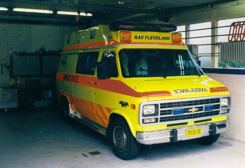 Dutch Ambulance Lelystad Chevrolet Chevyvan Ambulance In Flickr