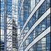 France - Paris - La Defense - Skyscraper Reflections 07 Topaz by Darrell Godliman