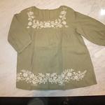 シャツ TVCL01C11035 淡緑 ¥2,980
