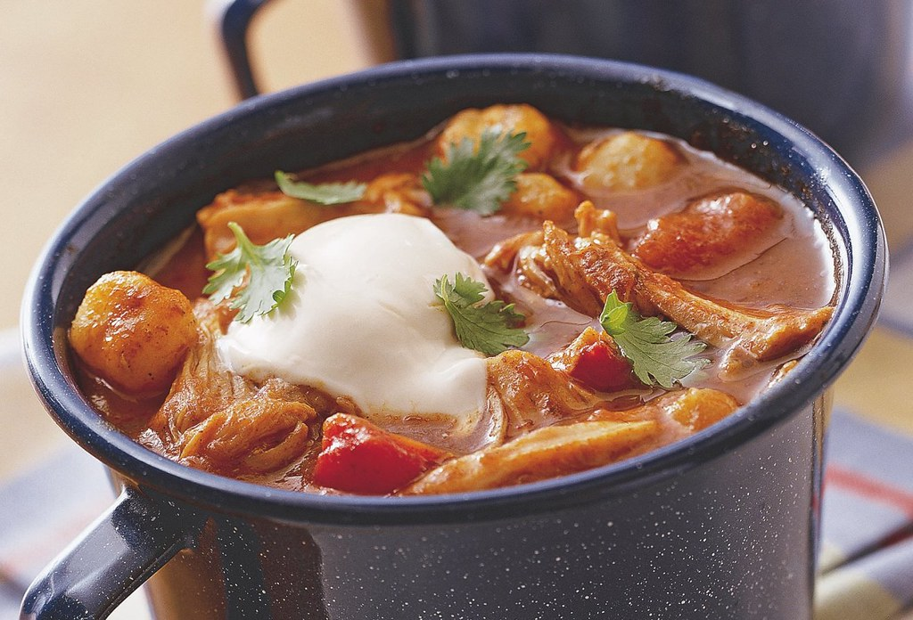 Slow Cooker Chunky Chicken Chili Recipe Ingredients 2 Pou Flickr