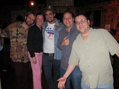 George Ingmire, Suzanne Corley, Your Cousin Dimitri, Heavy D, Brian McColgan