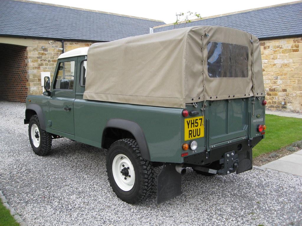 Land Rover Defender 110 Pickup   A Keswick Green Land Rover