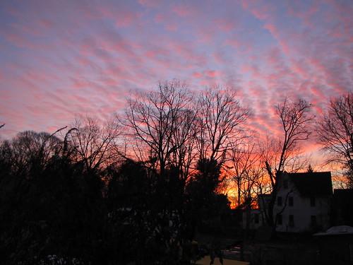 morning sunrise sunrises gibbsboro gibbsboronj