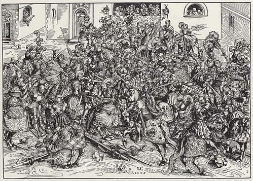 [ C ] Lucas Cranach - Tournament with Swords (1509) | by Cea.