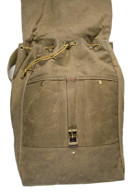 Repaired rucksack