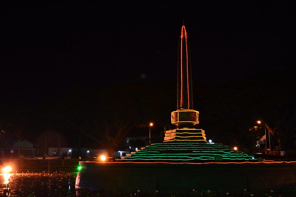 Tugu Kota Malang Fajar Embun Flickr
