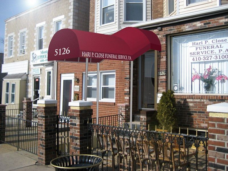A. Hoffman Awning Rendering Entrance