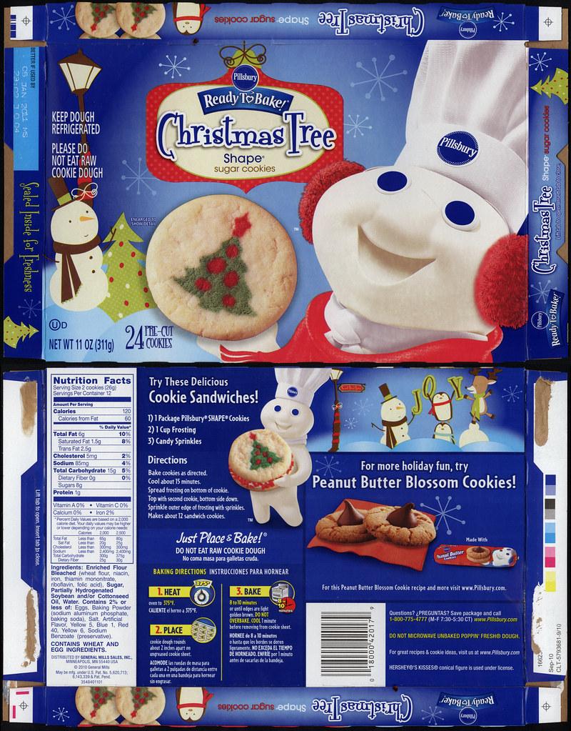Pillsbury Ready To Bake Christmas Sugar Cookies Thecannonball Org
