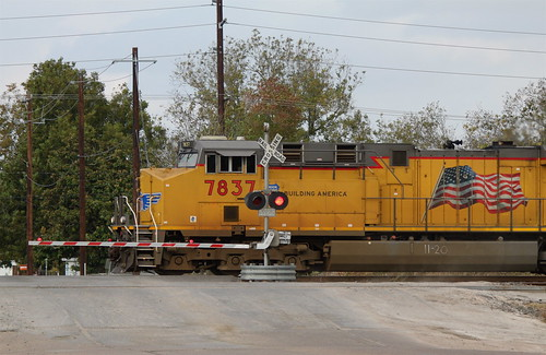 Westbound Union Pacific manifest, Rosenberg TX   by roy.luck