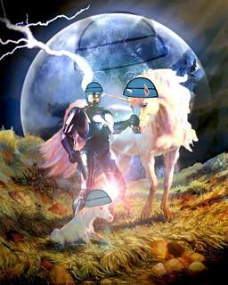 Robocop and Unicorn offspring