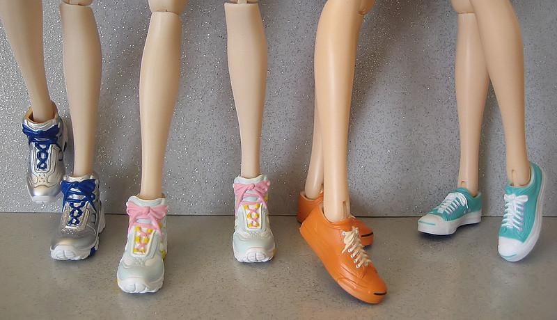 I've been doing a little Momoko shoe shopping