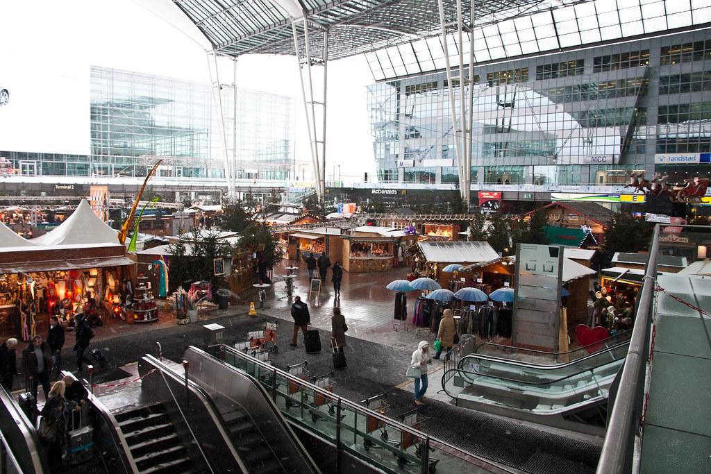 Christkindlmarkt München Flughafen