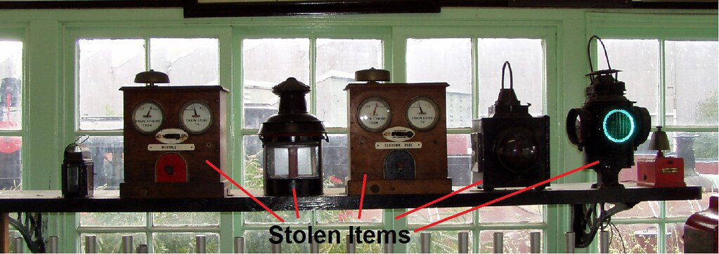 Stolen Items by David Shalders