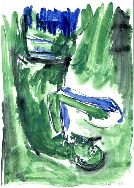 Baselitz, Georg (1938- ) - 1983 Untitled (Metropolitan Museum of Art, New York City)