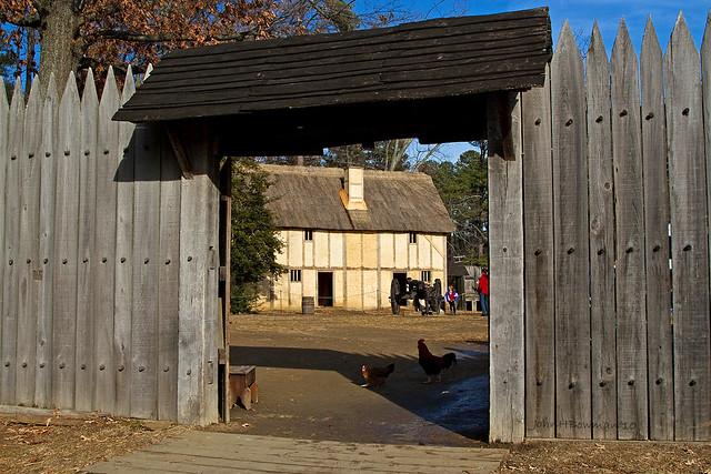 Jamestown Fort Main Gate