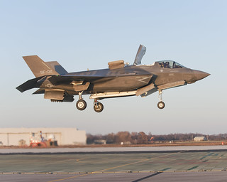 Joint Strike Fighter makes vertical landing | by United States Marine Corps Official Page