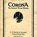 Corona manual