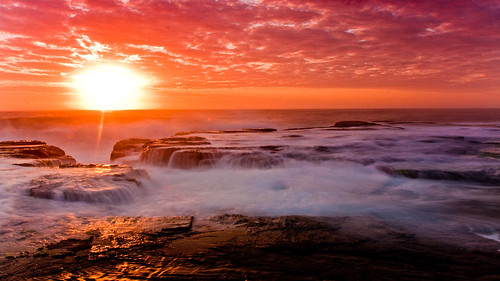 longexposure sunrise rocks waves gnd northnarrabeen nd8 turimetta