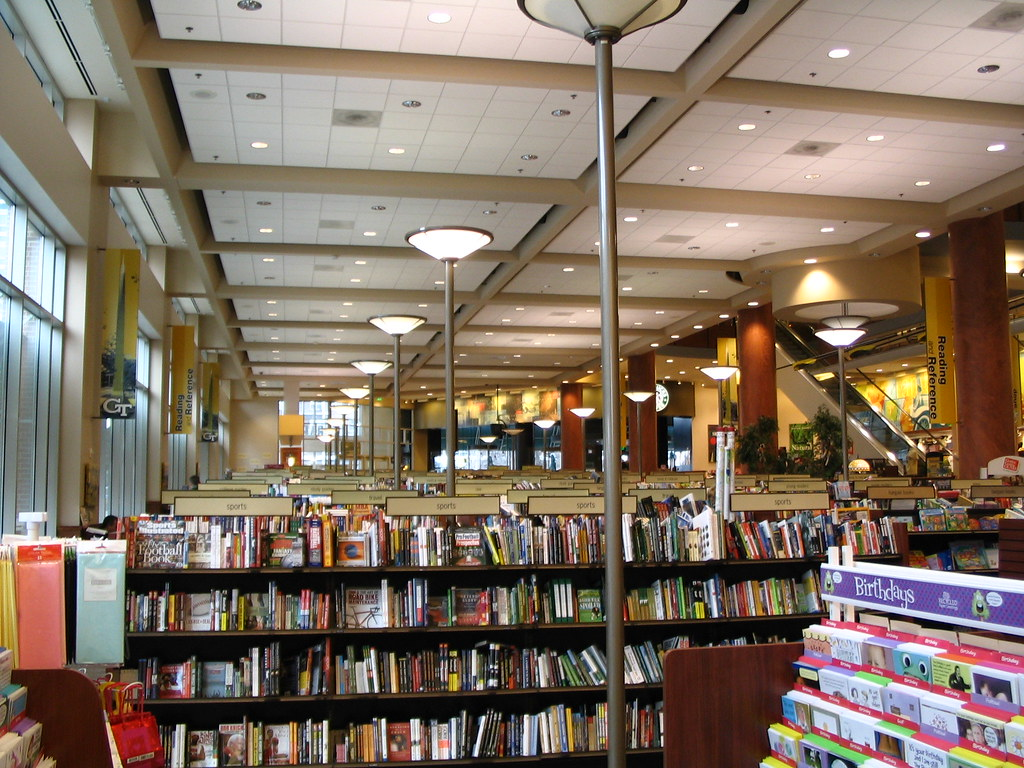 Interior Of The Georgia Tech Barnes And Noble Taken In Fe