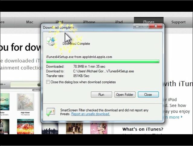windows basics part 2 - itunes download | Michael Gorzka | Flickr
