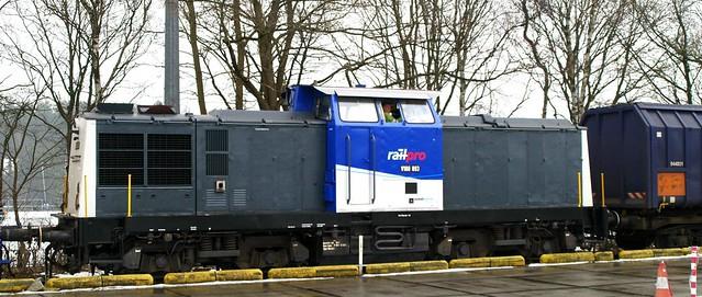 Railpro V100 op Crailo, Hilversum Noord