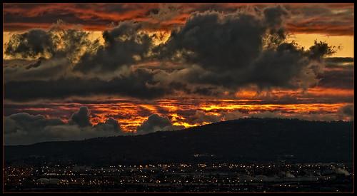 sunset clouds ngc longbeach wilmington signalhill palosverdespeninsula