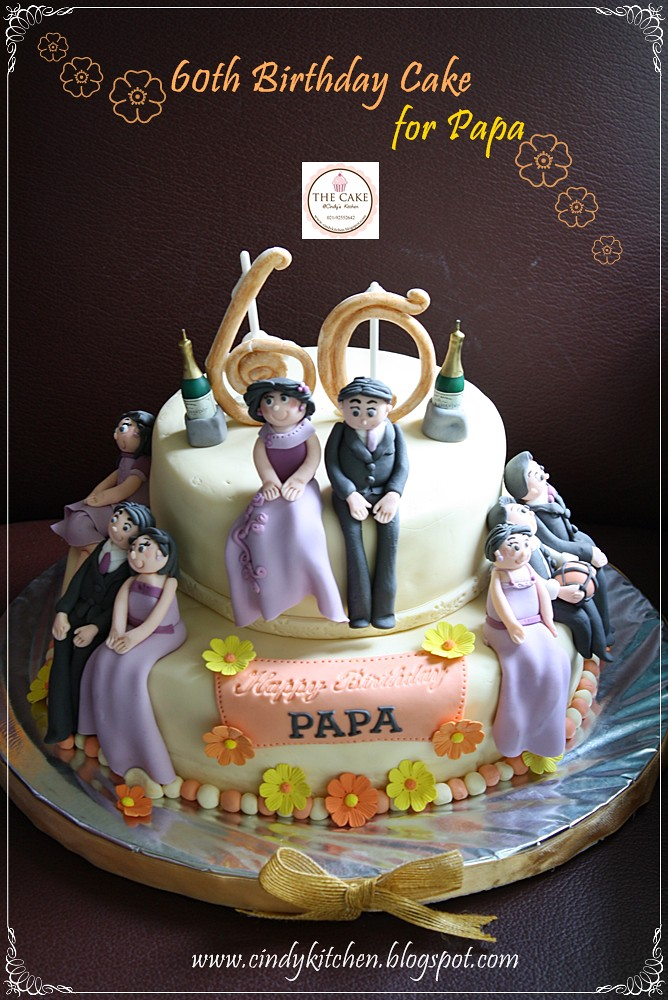 60th Birthday Cake For Papa