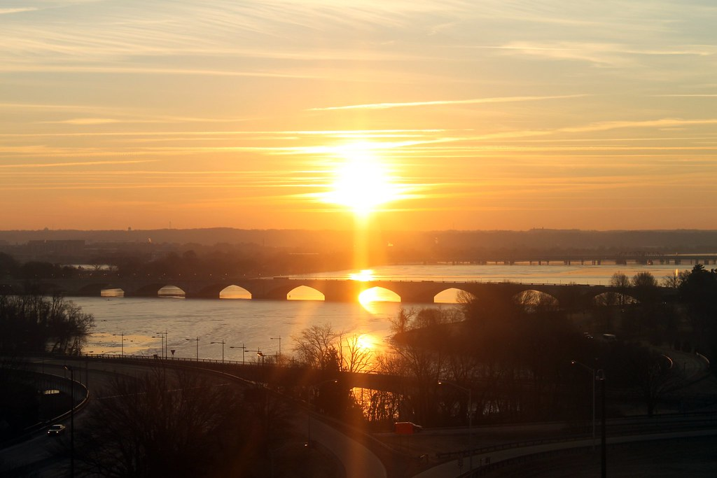New Year's Eve sunrise 4 | Arlington, Virginia | Brian ...