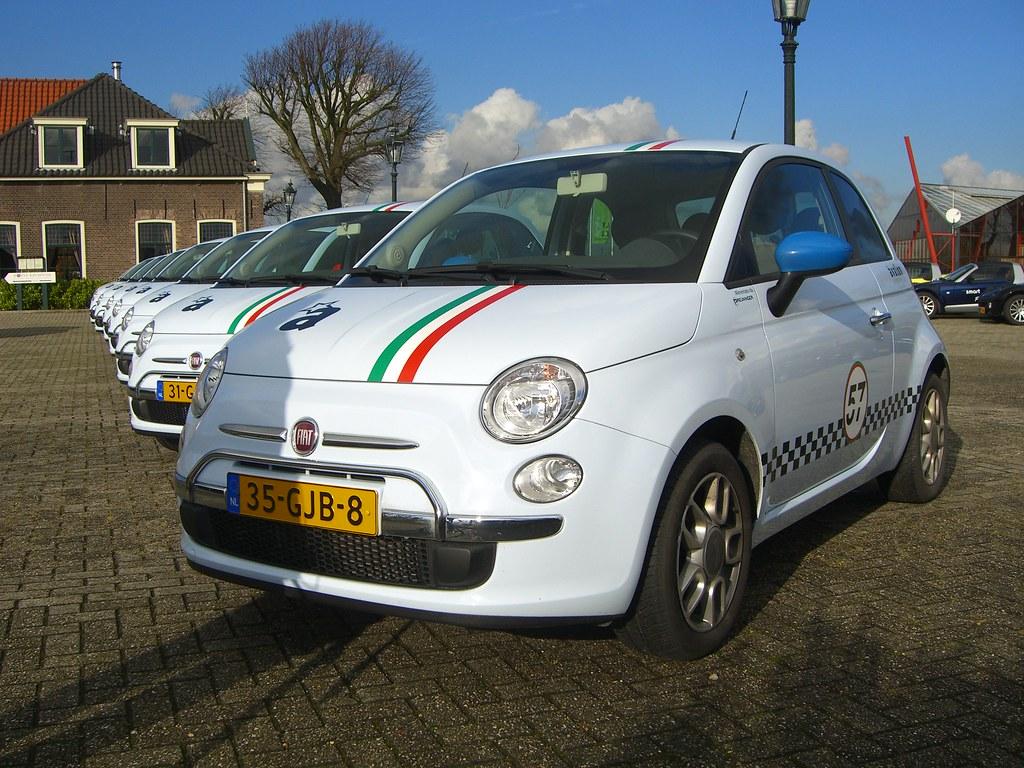 Fiat 500 Rally Car Ruud Steggerda Flickr