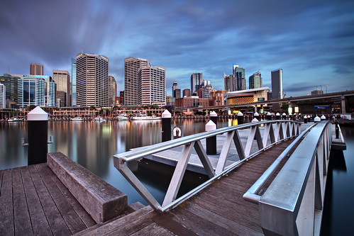 Darling Harbour by Twilight