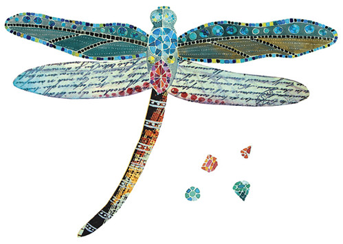 Dragonfly Last Year I Illustrated This Bejeweled border=