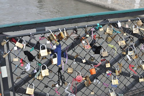 Love locks on the Ponts de Arts | by Marcus Meissner